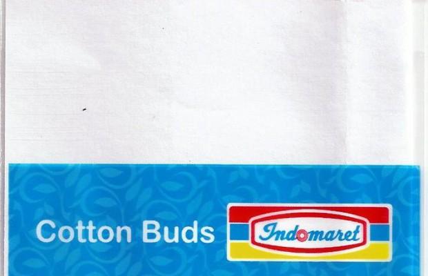 Kantong Plastik OPP Cotton Buds Indomaret 2016 Depan
